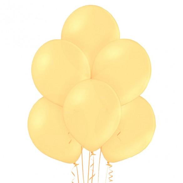 20 ballons ivoire