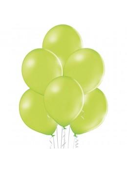20 ballons vert anis