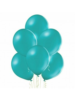 20 ballons turquoise