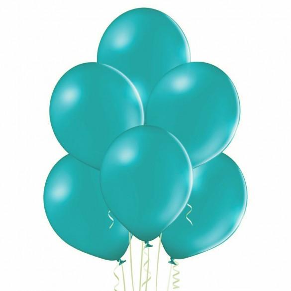20 ballons turquoise