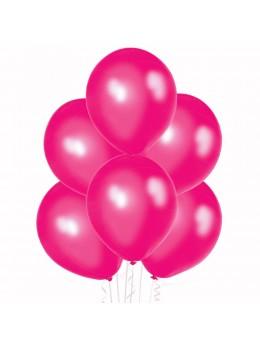 20 ballons fuchsia nacrés