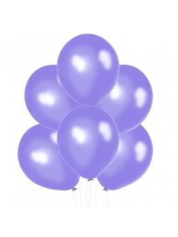 20 ballons lilas nacrés
