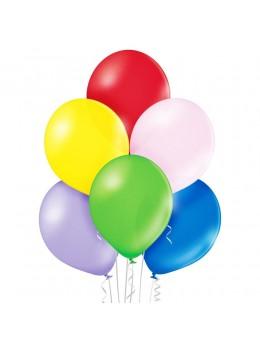 50 Ballons nacrés assortis