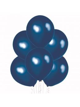 50 ballons bleu nacré