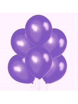 50 ballons Violet nacrés
