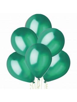 50 ballons vert métal