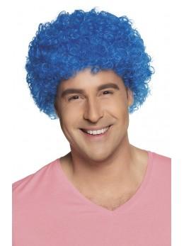 Perruque pop promo bleue