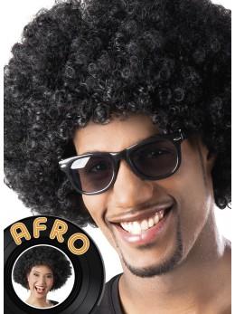 Perruque Afro noire promo