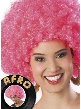 Perruque Afro Rose promo