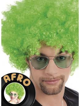 Perruque Afro verte promo