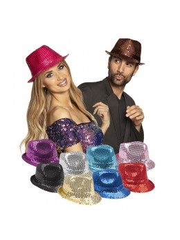 Pack de 5 borsalino sequin disco