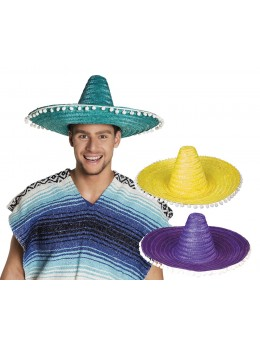 Pack 3 Sombrero mexicain