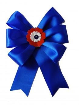 Cocarde conscrit parade bleu