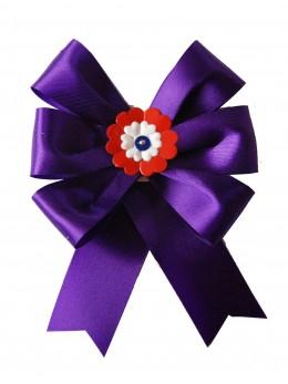 Cocarde conscrit parade violette