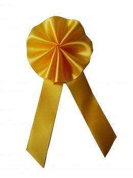 "Cocarde conscrits ""promo""  jaune"