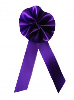 """Cocarde conscrits """"promo""""  violette"""