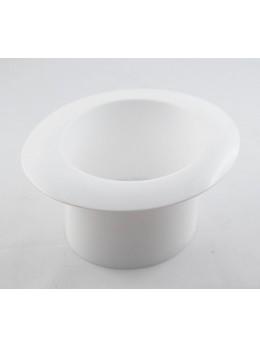 Gibus plastique dur blanc