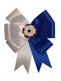 Cocarde parade bleu et blanche