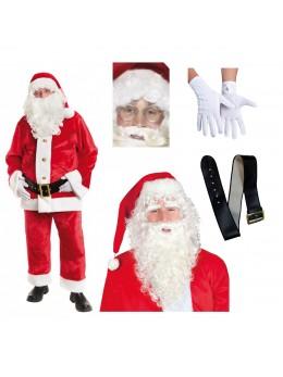 Pack Père Noël peluche complet