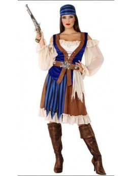 Déguisement femme pirate de haute mer