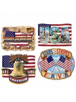 4 Décos USA vintage