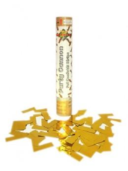 Canon à confetti or 30cm