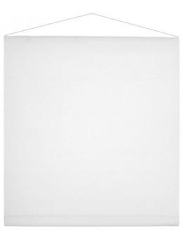 Tenture blanc 25m