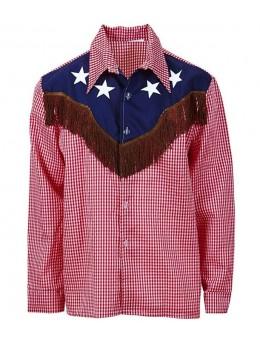 Déguisement chemise country cowboy