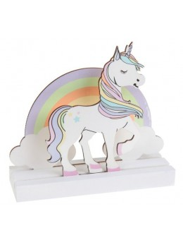 Centre de table licorne