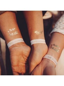 8 bracelets EVJF mademoiselle