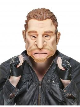 Masque latex humoristique Johnny adulte