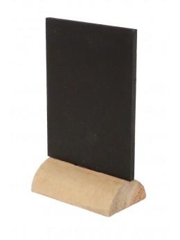 Marque place rectangle ardoise