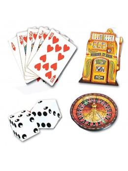 4 décos cutouts Casino