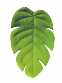 Déco feuille tropicale monstera 60cm