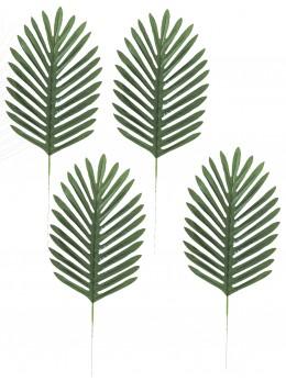 4 Feuille de palmier verte 40cm