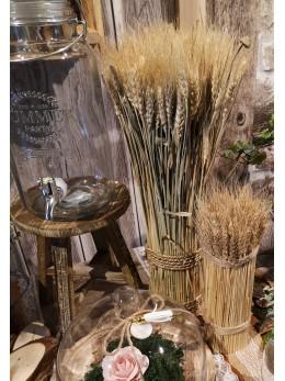 Tabouret décoratif en bois 25cm