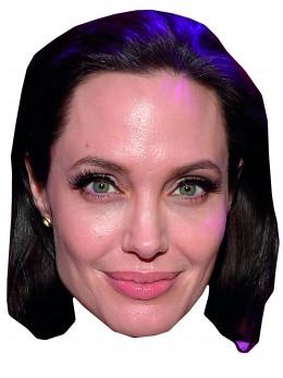 Masque carton Angelina Jolie