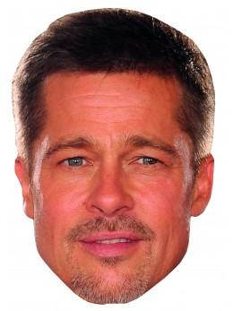 Masque carton Brad Pitt
