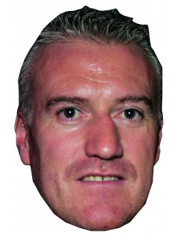 Masque carton Didier Deschamps