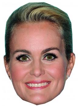 Masque carton Laeticia Hallyday