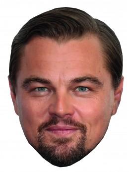 Masque carton Leonardo di Caprio