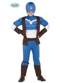Déguisement enfant Captain Superhéros