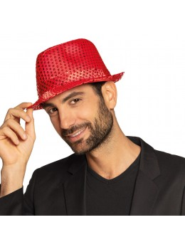 Borsalino Sequin rouge