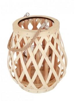 Lanterne bois avec anse