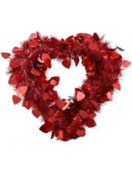 Décoration cœur saint valentin 40 cm