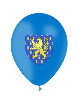 10 Ballons Franche comté 30cm