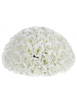 Centre de table géant roses blanches