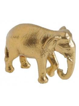 Déco éléphant doré