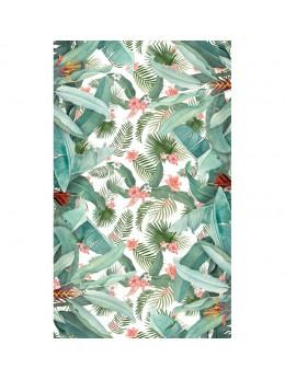 Nappe pliée tropicale papier