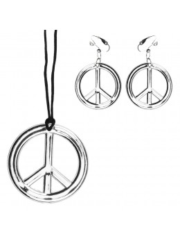 Set bijoux hippie Peace
